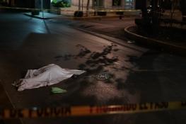 David Alvarado works the night shift for la nota roja (crime tabloids) in Mexico City.